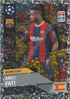 2020 21 Topps Champions League Rising Star Ansu Fati RS 3 Barcelona INVEST🔥🔥🔥