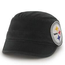 Pittsburgh Steelers '47 Brand Clovis Cadet Adjustable Hat - Black - NFL