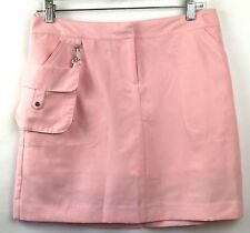 $69.50 IZOD XFG Pro Series Golf Skort Size 4 Pink Lightweight w/ Removable Pouch