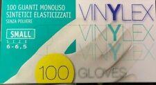 guanti monouso sintetici elestacizzati 5conf . DA 100pz
