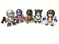 Mighty Muggs Lot Of 5 - Transformers Optimus Starscream Grimlock Megatron