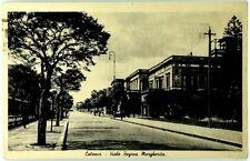 Cartolina Formato Piccolo - Catania - Viale Regina Margherita Viaggiata