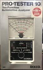 Vintage Dixco model 1403 10 Function Automotive Analyzer Tune-up/Tester OHMS etc
