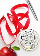 Thank you Gift Teacher - personalised medal -gift Best/unique memorable Gift