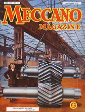 Meccano Magazine, Edition French, N° 11 November 1935, Bel Condition
