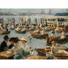 Max Liebermann On The Alster In Hamburg Extra Large Wall Print Canvas Mural