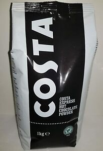 Costa Express Hot Chocolate Powder 1Kg - Tracked service