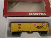HO scale Mantua  Heavy 40' woodside reefer car US Railroad American NIB