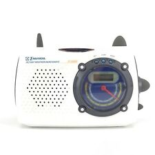 Emerson Instant Weather Band Am/Fm Radio Model Rp6248 White Tested Fast Ship