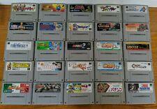 25 X Nintendo Super Famicom Games SFC
