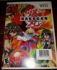 BAKUGAN Battle Brawlers (Nintendo Wii, 2009) *NEW SEALED* SHIPS FREE Mon-Sat!