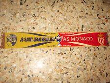 echarpe scarf football AS MONACO ST JEAN BEAULIEU COUPE DE FRANCE 2016 32 EME