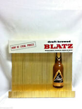 Blatz beer sign vintage 1958 bottle display bar draft brewed form B9-262 old CK8