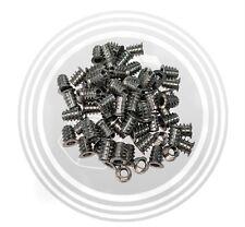 Type D Threaded Wood Insert Nuts, Zinc Silver, M6-1.0 x 13