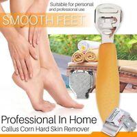 Foot Skin Shaver Corn Cuticle Cutter Remover Pedicure Callus Shaver 10 Blades