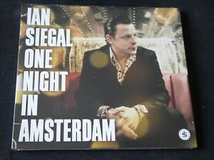 Ian Siegal - One Night In Amsterdam (SEALED NEW CD 2015)