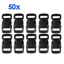 50X Kunststoff Verschluss Klickverschluss Steckschlie�Ÿer B1T6 D2F1