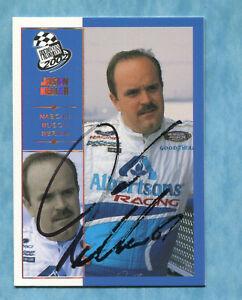 SIGNED 2002 Press Pass Platinum #45 Jason Keller - Autographed Card NASCAR Auto