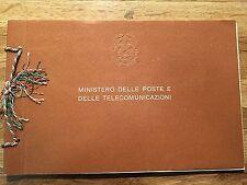 LIBRO FRANCOBOLLI  POSTE REPUBBLICA  NUOVI MNH** 1966