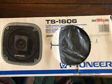 """Pioneer TS-1606 Vintage 2-WAY 6.5"""" Car Speakers"""