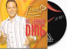 FRANS BAUER - He lekker ding CD SINGLE 3TR DUTCH CARDSLEEVE 2005
