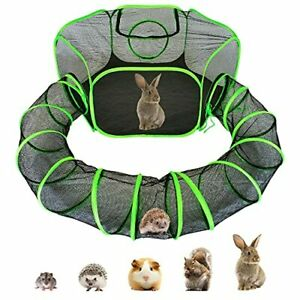Small Animal Playpen Guinea Pig Hedgehog Cage Rabbit Cage with Fun Surround