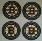 Coaster - Boston Bruins/Putting Legends on Ice-Budweiser Coasters-Set of 4*NEW*.