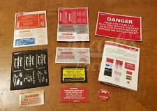Ghostbusters - Pack & Wand Label SetByMack's Factory -Limited Production