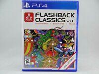Atari Flashback Classics Vol. 1 (Sony PlayStation 4, 2016)