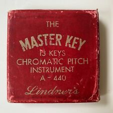 Vintage The Master Key Chromatic Pitch Pipe Instrument in box