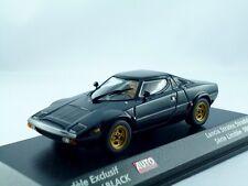 Lancia Stratos 1974 Noir/MINICHAMPS 1:43