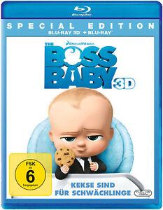 Dreamworks: THE BOSS BABY 3D+2D [Blu-ray] NEU/OVP