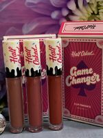 🎂 NIB Half Caked Game Changer Trio Lip Fondant By Caked Cosmetics Lip Paint SET