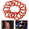 20PCS Orange Tube Dampers Silicone Rings For 12AX7 12AU7 12AT7 12BH7 EL84