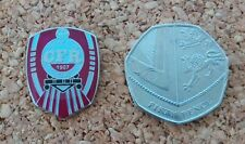 CFR Cluj Football Badge - FREE POSTAGE!