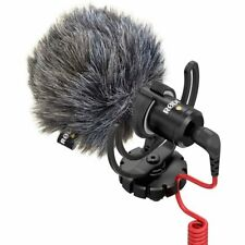 RODE VideoMicro Compact On-Camera Microphone DSLR Blogger Mic Pro Video 3.5mm