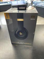 Beats by Dr. Dre Studio3 Midnight Black On Ear Headphones MXJA2LL/A NEW SEALED!