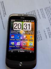 HTC  Wildfire S - Schwarz (Ohne Simlock) Smartphone