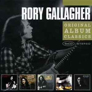Rory Gallagher 5 CD's  Deuce / Calling Card / Top Priority & 2 more ULTRA RARE!