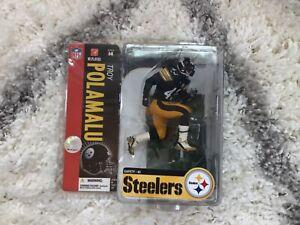 TROY POLAMALU-NFL-Pittsburgh Steelers-Mcfarlane Figure-Series 14-Sealed/2006
