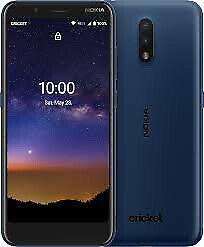 Nokia C2 Tava - 32GB - Tempered Blue (Cricket Wireless) (Single SIM)