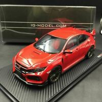Ignition Model IG1449 Honda CIVIC FK8 TYPE R Red 1/18 RS-Wheel from Japan New