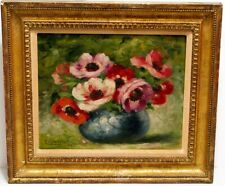 Vintage 1930s French Oil Painting Still Life Nice France Artist Giovanni Morscio