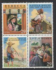 Scott 2785-88- Classic Children's Books- Block of 4- MNH 29c 1993- unused mint