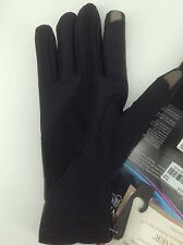 Women's ISOTONER Brand Black LEATHER DRESS Gloves - size XL - $56 MSRP - 25%