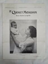 Le Carnet Mondain n.364 Avril 1914 Revue Illustrèe du high-life