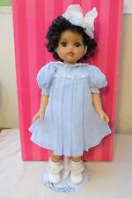 "NIB Marie Osmond Waxallure NIKELA  15"" collector doll with stand"