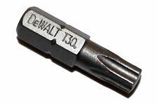 DEWALT T30 (TX30) 25MM 'TORX' HEX INSERT BIT PK1,2,5,10,25 (DT7963 SPLIT PACK)