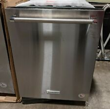 "KitchenAid Kdtm704Ess 24"" Top Control Built-In Dishwasher - Stainless Steel"