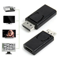 Display Port DP Male To HDMI Female Adapter Adaptor Converter For 1080P HDTV Fad